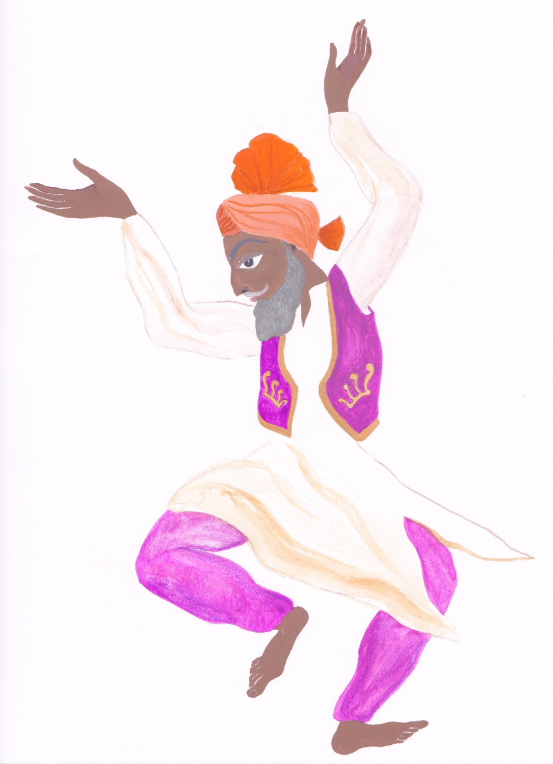 bangra dancer