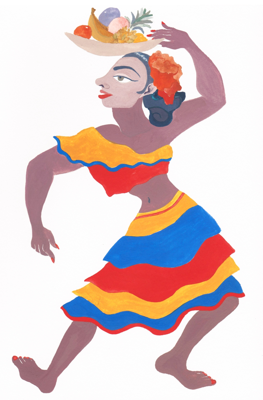 Cumbia dancer